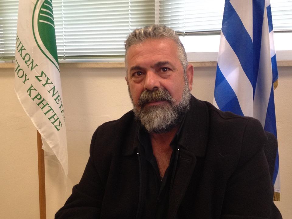 Πρόεδρος Οργάνωσης Αμπελουργών και Ελαιοπαραγωγών Κρήτης
