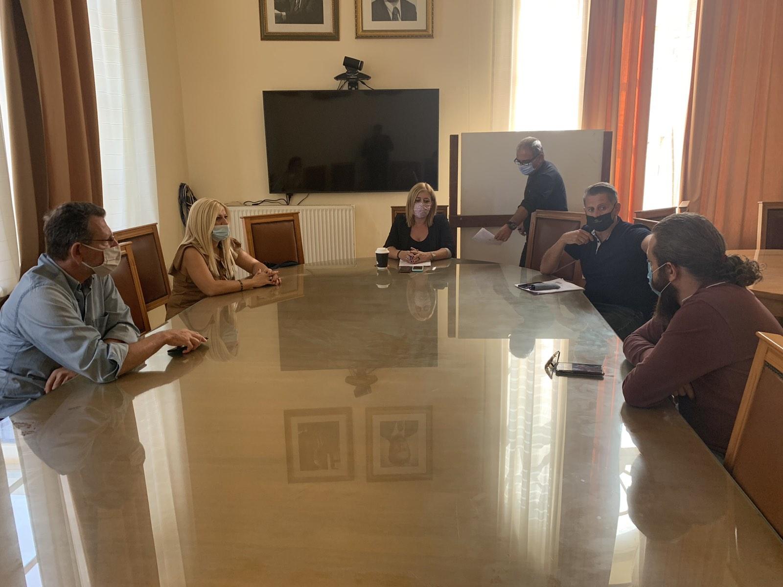 Σύσκεψη για το θέμα πραγματοποιήθηκε στο Δήμο Ηρακλείου