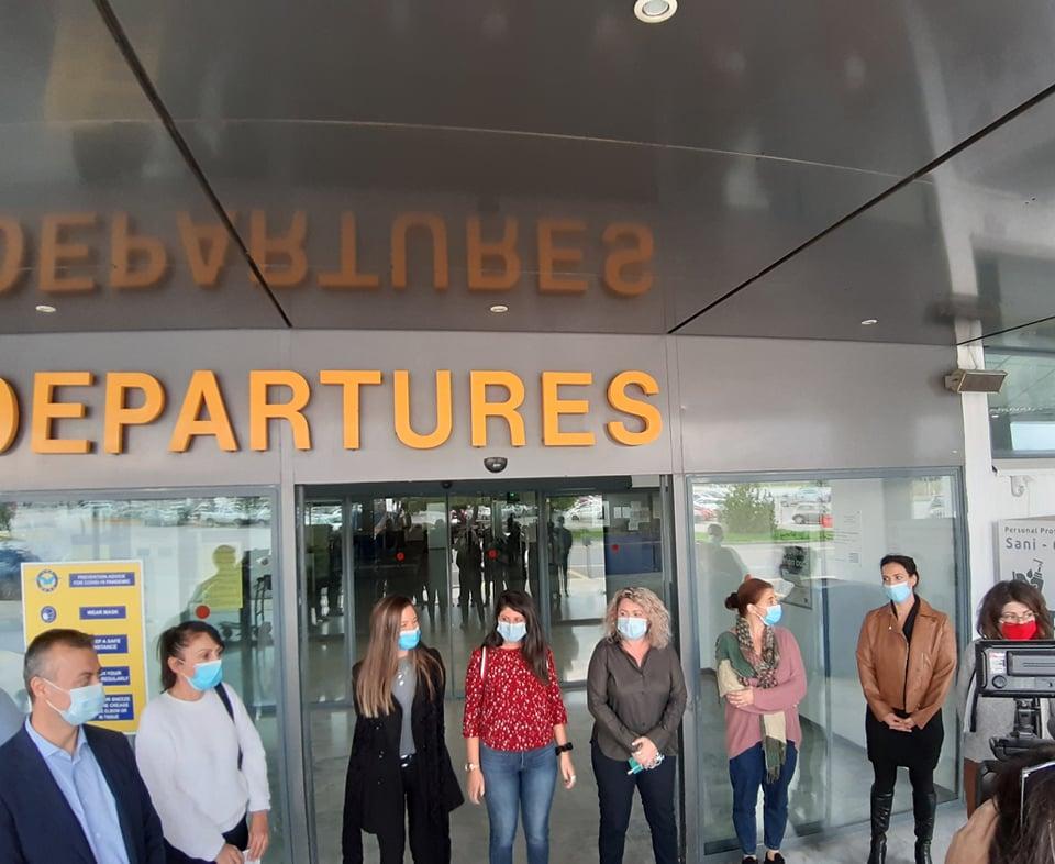 Νοσηλεύτριες Αεροδρόμιο