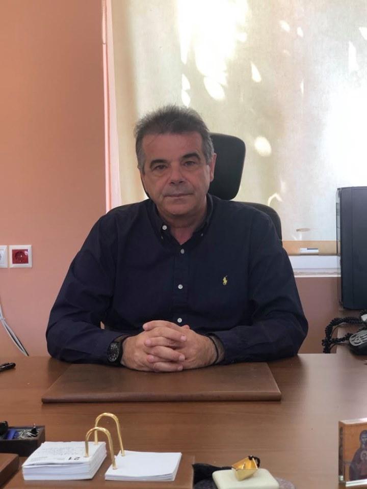 δήμαρχος Αγίου Βασιλείου Γιάννης Ταταράκης.
