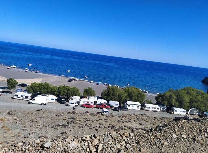 Τρυπητή παραλία