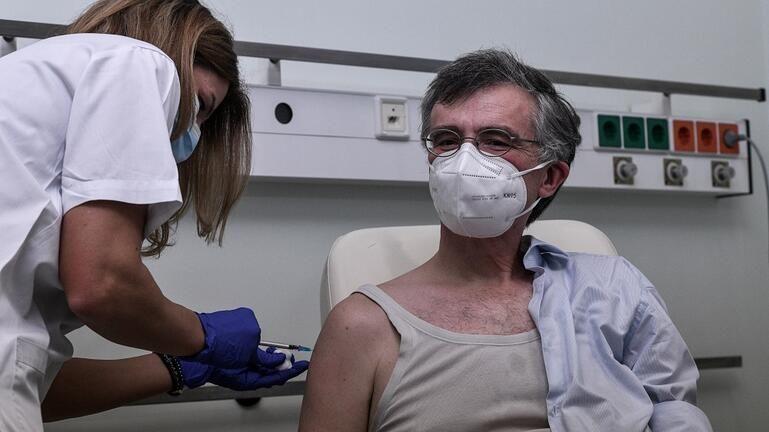 Τσιόδρας εμβολιασμός
