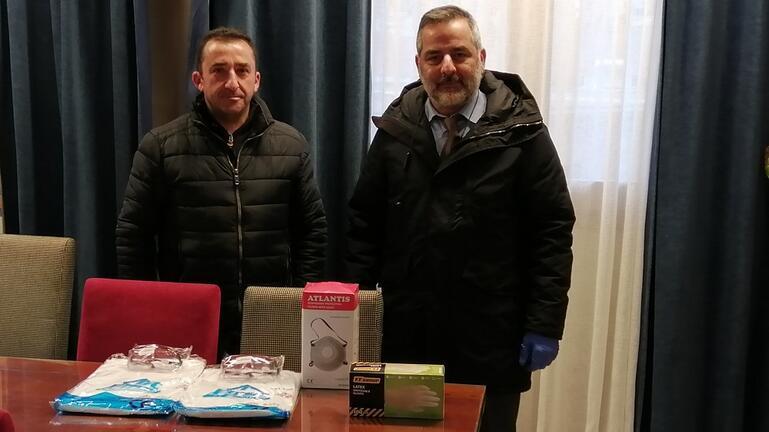 """Έμπρακτο """"ευχαριστώ"""" στους διασώστες του ΕΚΑΒ από τον Δήμο Οροπεδίου"""