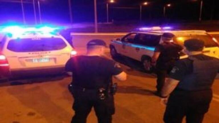Νέο «ντου» της αστυνομίας στον καταυλισμό των Ρομά