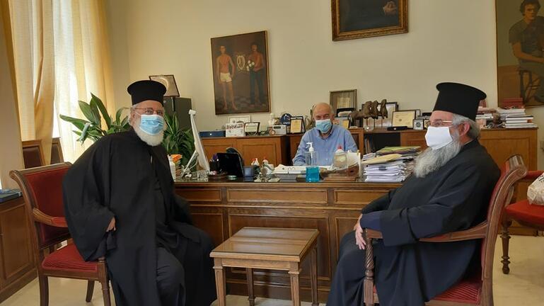 Τι συζήτησαν με τον Δήμαρχο Ηρακλείου οι Μητροπολίτες Ανδρέας και Ευγένιος