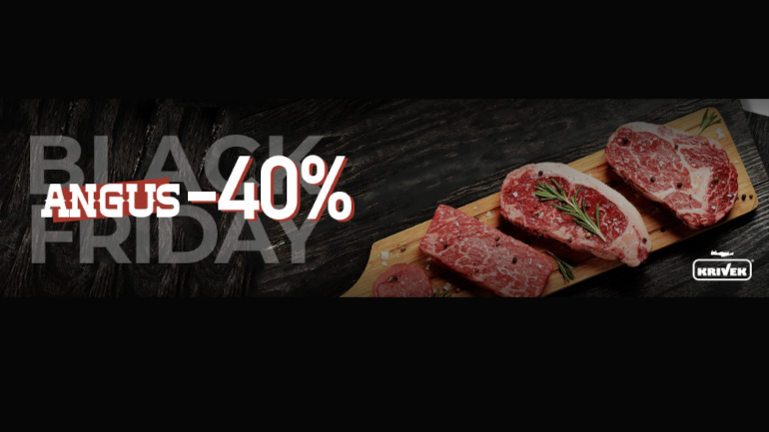 BLACK ANGUS WEEK – 40 %