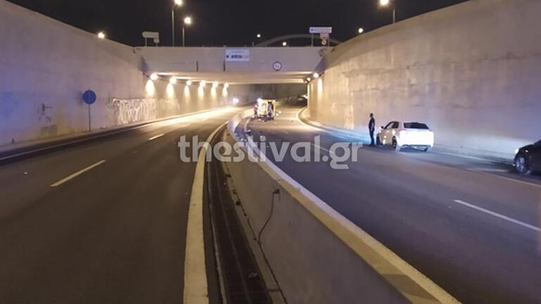 Τραγωδία στη Θεσσαλονίκη: Νεκρός μοτοσικλετιστής που οδηγούσε στο αντίθετο ρεύμα