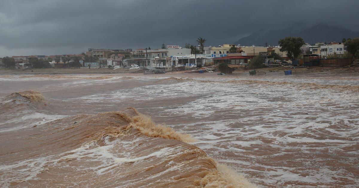 Μεγάλα ύψη βροχής στην Κρήτη – Συνεχίζεται η κακοκαιρία